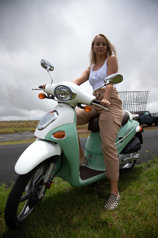 Kona Moped Rentals - Big Island Moped Rentals - Kailua-Kona