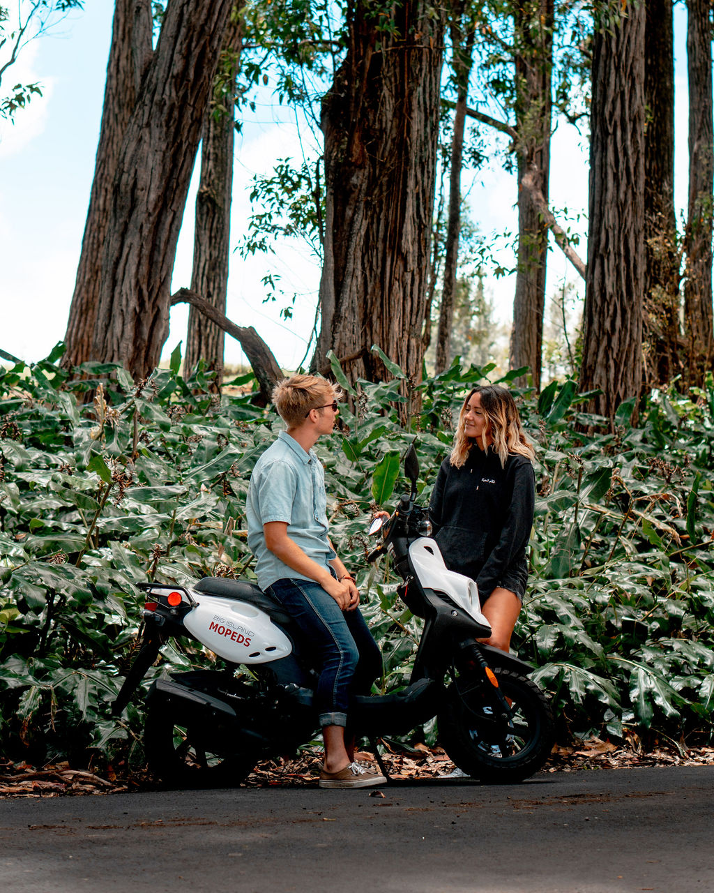 Big Island Kona Moped Rentals Fleet