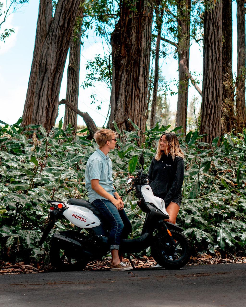 Big Island Kona Moped Rentals Fleet