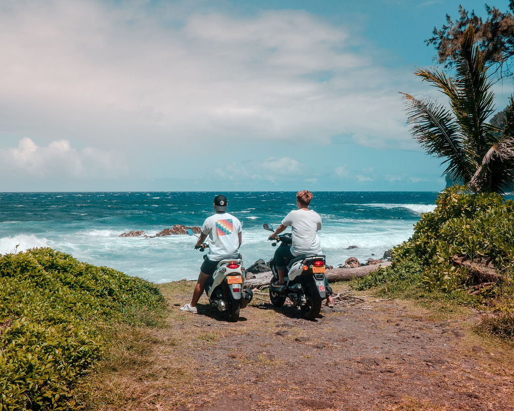 Big Island Kona Moped Rentals Brakes and wheels keeping you safe on the road
